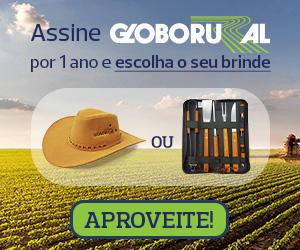 Assine Globo Rural e escolha seu brinde
