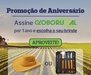 Assine Globo Rural e escolha seu brinde!