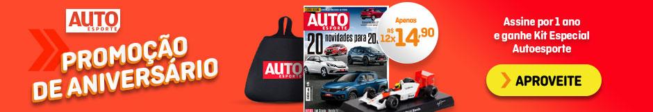 Assine e GANHE um Kit Especial de Aniversário Autoesporte