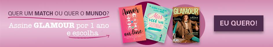 Assine Glamour e escolha seu livro!