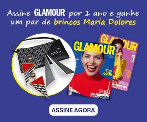 Assine Glamour e Ganhe um par de brincos Maria Dolores