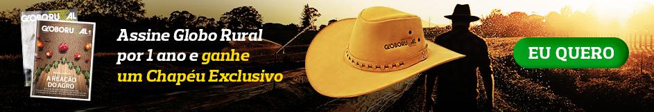 Assine Globo Rural e ganhe um chapeu!