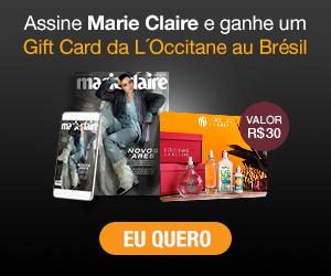 Assine Marie Claire e ganhe um voucher Loccitane