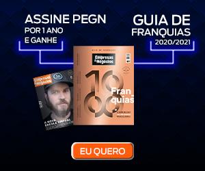 Assine Pegn e ganhe o Guia de Franquias 2021