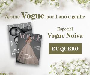 Assine Vogue e ganhe o Especial Vogue Noiva 2021
