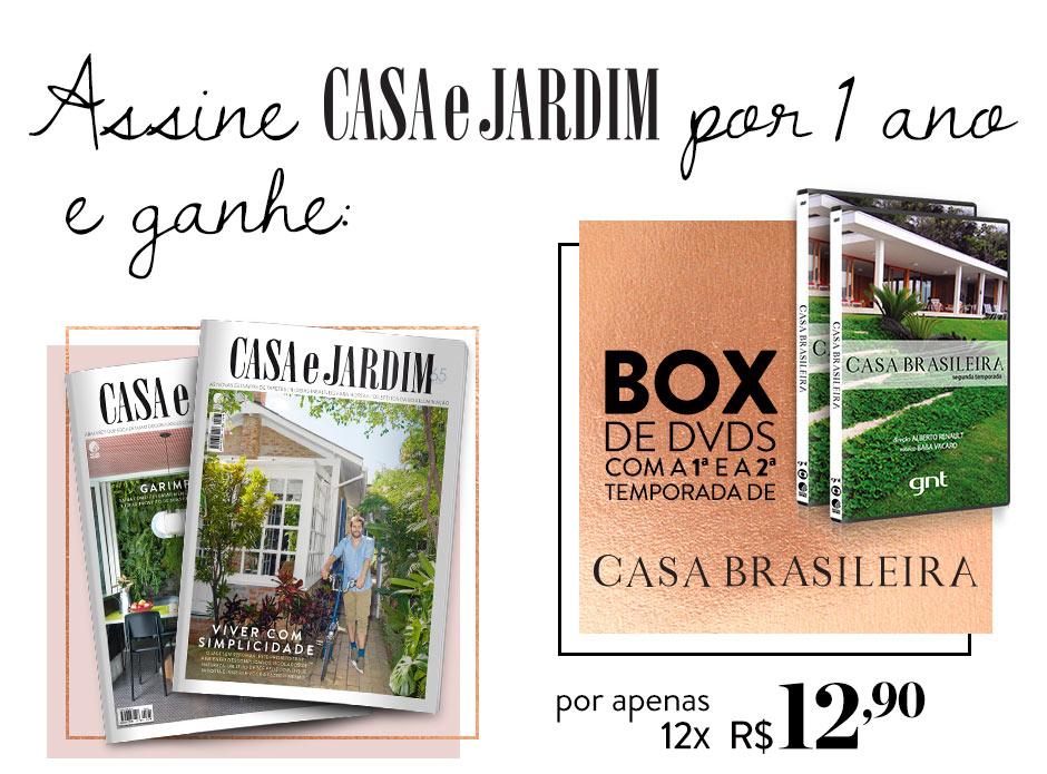 bf3353bab7a11 .  E-commerce Editora Globo - Assine Casa e Jardim e ganhe box de DVDs Casa  Brasileira  .