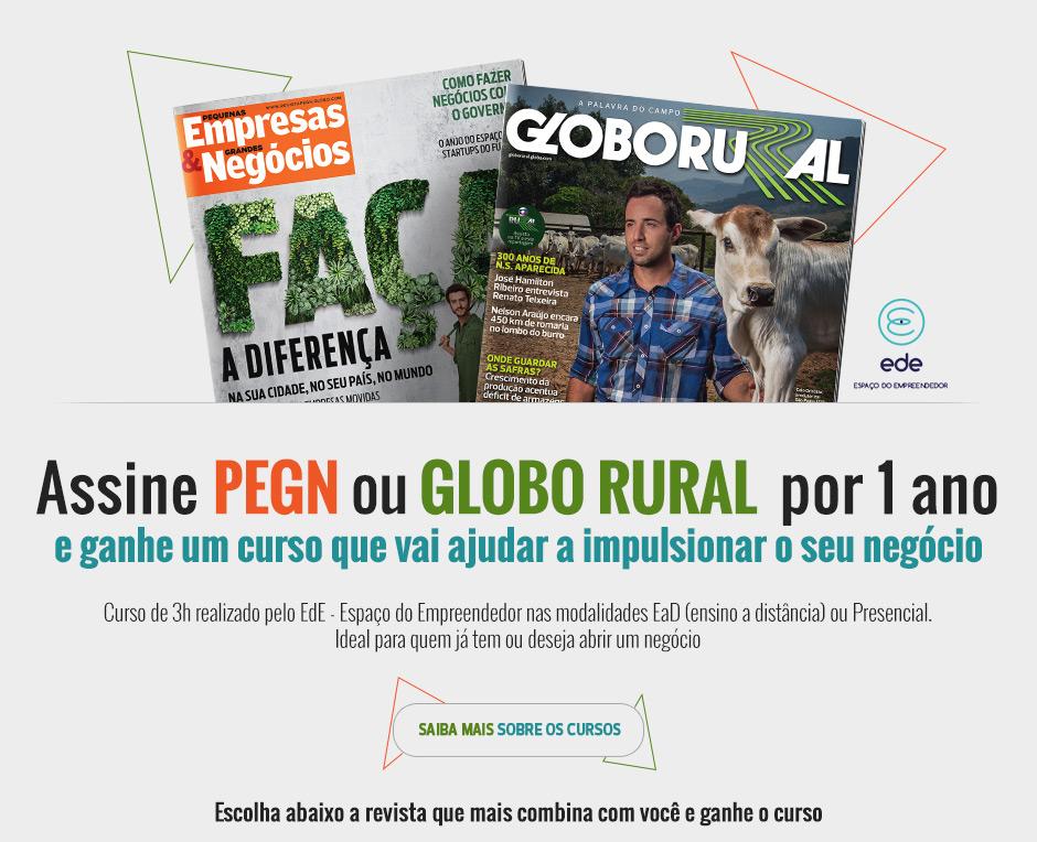 4b5624c8af4d0 .  E-commerce Editora Globo - Assine Globo Rural ou PEGN e ganhe um curso  de gestão.  .