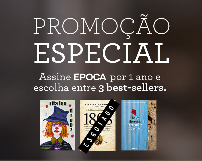 Assine Época e escolha entre 3 best-sellers