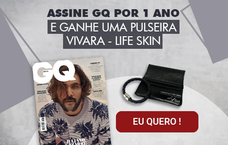 Assine GQ e ganhe uma pulseira Vivara Life Skin