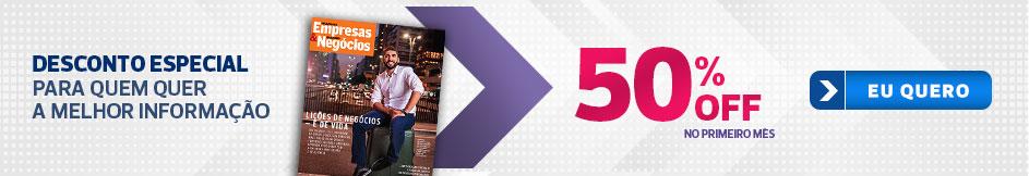 Oferta Especial: 50% OFF no 1º mês!