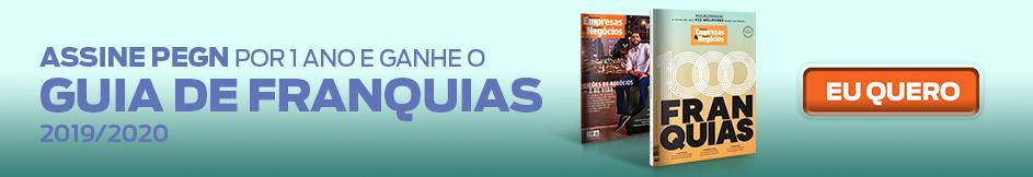 Assine PEGN e ganhe o Guia de Franquias 2019/2020