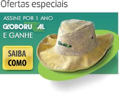 Assine Globo Rural e ganhe um chapéu country