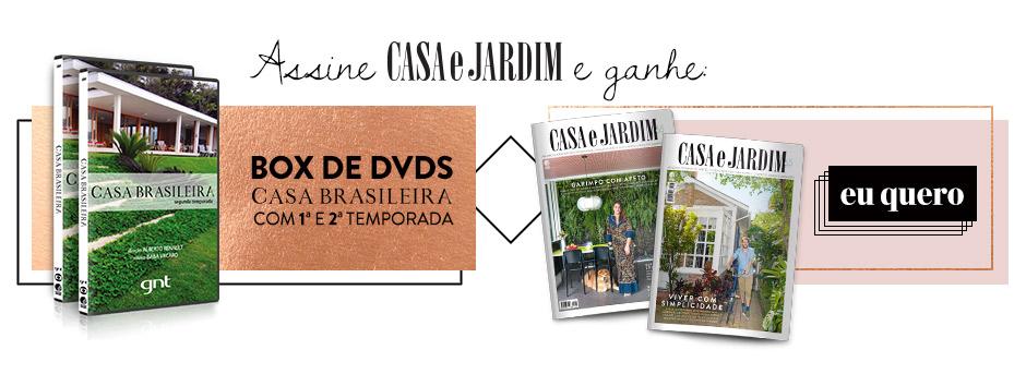 Promoção Casa e Jardim + DVD Casa Brasileira
