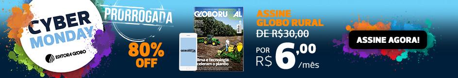 Assine Globo Rural com 80% de desconto