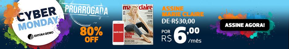 Assine Marie Claire com 80% de desconto