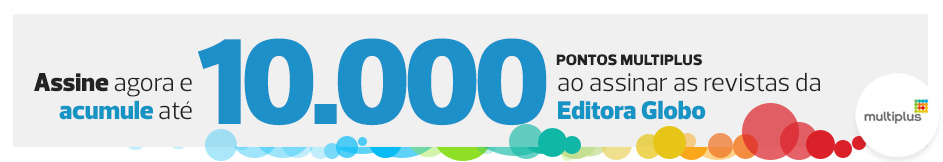 Acumule até 10.000 pontos Multiplus