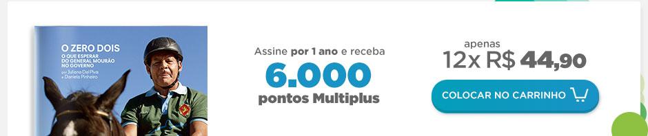 Assine ÉPOCA por 1 ano E GANHE 6.000 PONTOS MULTIPLUS