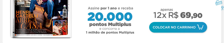 Assine QUEM por 1 ano E GANHE 20.000 PONTOS MULTIPLUS