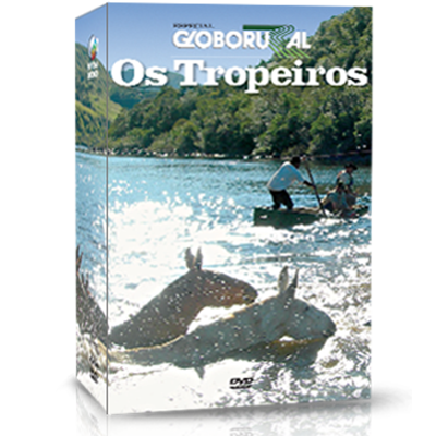 BRINDE: DVD OS TROPEIROS (3 DVDS)