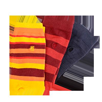 03 pares de meias