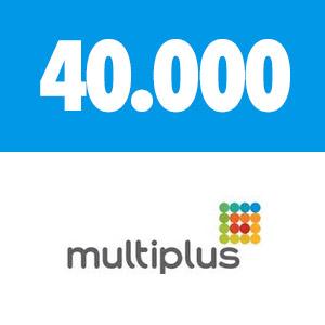 40.000 PONTOS MULTIPLUS